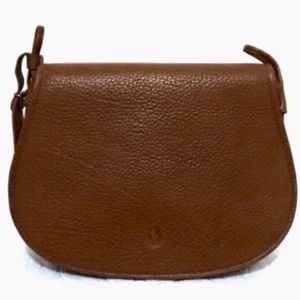 Vintage Ralph Lauren Leather Saddle Bag